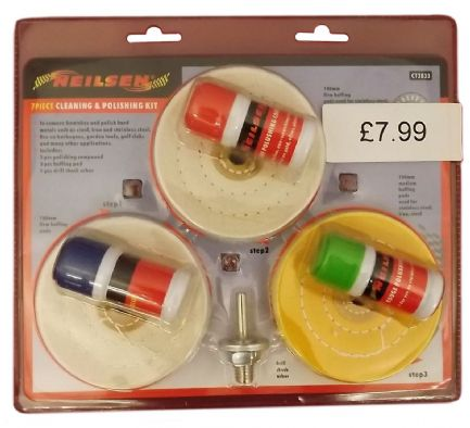 Cleaning and Polishing Set 7 Piece